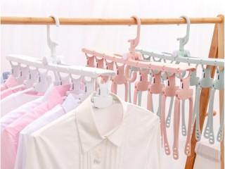 Jual Gantungan Baju Lipat Ajaib 8 In 1