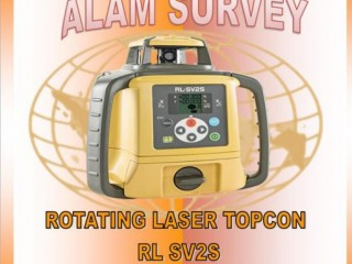 Jual Rotating Laser Level Topcon RL-SV2S | Total Station - 087783989463