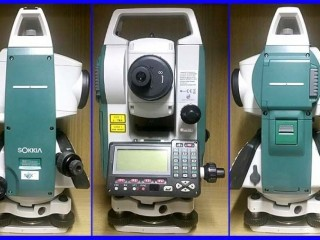 0812 9595 8196-jual total station sokkia set 550x bekas/second murah banjir 2020
