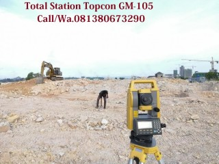 AMBYARRR...Jual-Sewa-Kalibrasi-Total Station Topcon GM-105 (All Type)
