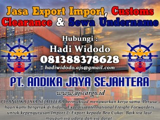 Jasa Customs Clearance dan Jasa Import