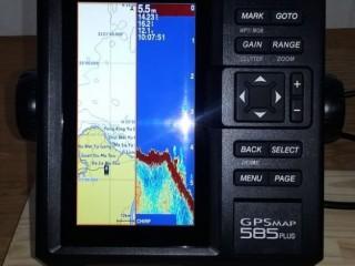 Jual Gpsmap 585 Plus Garmin GPSMAP 585 Plus layar 6 inci Gps Kapal Laut 081294376475