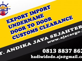 UNDERNAME BORONGAN DOOR TO DOOR |AJSCARGO