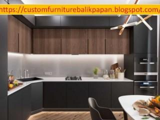 WA 0853-4787-8600 Jasa Pembuatan Kitchen Set di Balikpapan, Mebel Furniture Custom