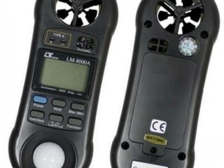 JUAL Anemometer Lutron AM-8000A 4 in 1  // HUB MARGASETIA 082124100046