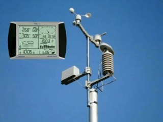 JUAL ANEMOMETER PCE-FWS 20 Weather Station with touch screen // HUB 082124100046