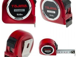 "Tajima H1550MW Class 1""Hi Lock Measuring Tape, Red, 5 m x 25 mm // hub 082124100046"