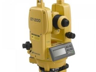 =08118477200= Jual Theodolite Topcon DT-209/DT-205L/DT-207
