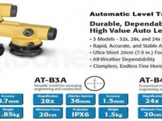 082112325856 Jual Waterpass Auto Level Topcon ATB3A Complete Set