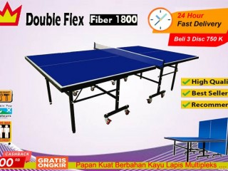 Tenis meja pingpong merk DOUBLE FLEX FIBER 1800