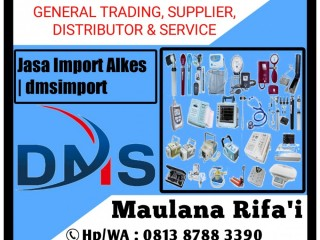 Jasa Import Alkes | dmsimport