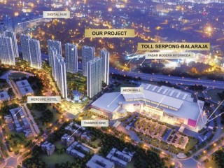 Pastikan Anda Memiliki Apartment Sky House Bsd beside Aeon Mall Bsd