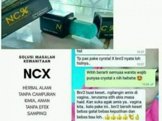 Jual NCX CRYSTAL X NASA Sabun Wanita